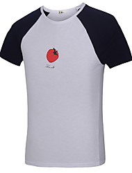 2016 Men New Arrival Fashion T-Shirt Men Body Building Casual Tomato Printed  Sport T-shirt