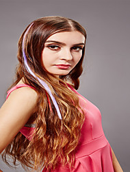 Synthetische Colorful Clip In Hair Extensions 1 Clips Synthetic Hair Extension