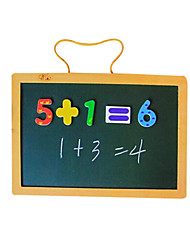 Wall Hung Chalkboard, Wooden Children Magnetic Drawing Board, the Board Tablet