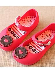 Zapatos de bebé-Planos-Casual-PVC-Azul / Rosa / Rojo