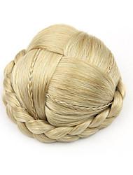 курчавые курчавые золота европы маленький человеческих волос монолитным парики шиньоны 1003