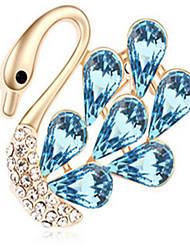 cristal de cygne Broche de haute qualité pour la dame de fête de mariage