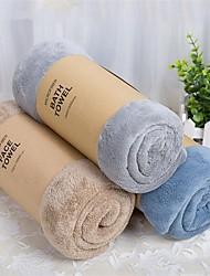 Serviette de bain Comme image,Solide Haute qualité 100% Molleton Serviette