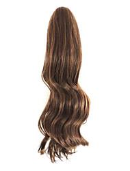 коричневый 50см длина хань выпуск новой женской клешней вьющиеся волосы (цвет светло-коричневый)