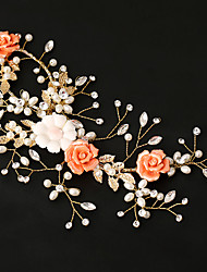 Women's Pearl / Alloy / Acrylic Headpiece-Wedding / Special Occasion Flowers 1 Piece