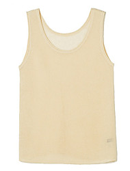 Women's Solid Blue / Pink / White / Beige / Black / Gray Vest,Sexy / Simple / Street chic Sleeveless