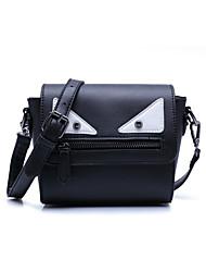 Women-Casual / Outdoor-Cowhide-Shoulder Bag-Black