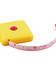 1 Inch Ruler Mini Meters Without The Key Buckle,Plastic Tape