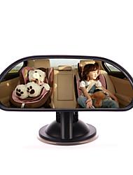 iztoss Baby Autospiegel Rücksitz rückwärts gewandten Kinder in Sicht verstellbare Auto Baby Rückspiegel mit Saugnapf