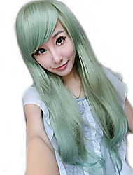 Curly Green Lady Wigs Hair Cosplay Synthetic Hair Wigs