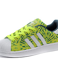 Adidas Originals Superstar Round Toe / Sneakers / Running Shoes / Casual Shoes Men's Wearproof White / Green / Black / Brown