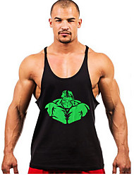 Hight Quality Men Active Casual Gym Tops Tops Summer Loose Tops Male Bodybuilding Sports Vests