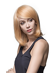 Charming Bob Style Capless Virgin Remy Human Hair Hand Tied -Top Medium Emmor Wigs