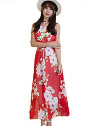2016 Summer New Women's Elegant Chiffon / Bohemian Beach Dress