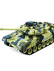 línea 4101 un control remoto nieve tirón del leopardo 1 gran carro T90 modelo militar modelo de juguetes para adultos
