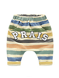 Children Pants For Baby Stripes Summer Trousers Boys Pants Kids Child Loose Shorts