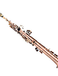 Lt WAS - 6998 Red And Bronze B Alto Saxophone Fission Saxophone