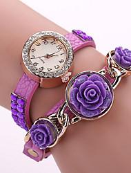 Woman's  Rose Winding  Watch