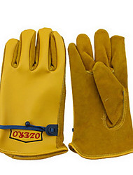split joint Leather gloves