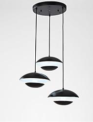 hot Modern Simple 3 Heads LED Pendant Lights Living Room Bedroom Dining Room light Fixture