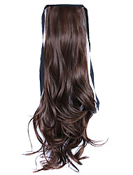 Wig Brown 50CM High-Temperature Wire Strap Style Long Hair Ponytail Colour 4A/30B