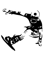 Wall Stickers Wall Decals Style Ice Skating PVC Wall Stickers