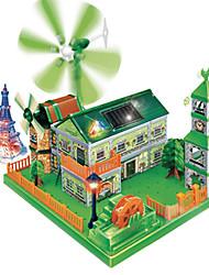 o céu de ouro energia verde amazingtoys experimento científico ciência solar de DIY brinquedos educativos pela ciência e tecnologia
