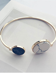 Titanium Steel Bracelet Bangles with Resin for Women Fine Jewelry Christmas Gifts