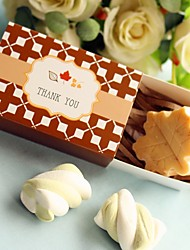 Recipient Gifts - 1 Piece/Set, Autumn Leaf-Shaped Soap Baby Birthday Party Favors Wedding Favors