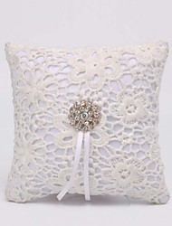 Fashion Simple Lace Hollow Texture Ring Pillow