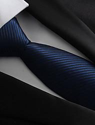 Cravate Rétro Soirée Travail Polyester,Homme Toutes les Saisons