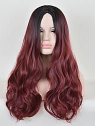 ломбера парик дешевого способа термостойкие синтетические двухцветных париков