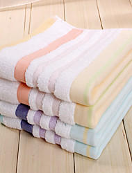 2pc Pack Fringe-pattern Hand Towel 100% Cotton High Quality Super Soft