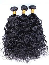 Slove Hair Wet and Wave 7A Water Wave Virgin Hair 3 Bundles/Lot, Cheap Unprocessed Peruvian Hair Human Hair Bundles