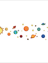 Wall Stickers Wall Decals Style Galaxy Star PVC Wall Stickers