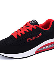 Summer Autumn Hot Sale Men's Flyweave Breathable Mesh Running Shoes in Casual Style Lace-up Sneakers