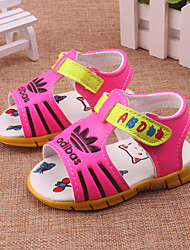 Baby Shoes Dress / Casual Leather Sandals Blue / Yellow / Fuchsia