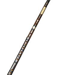 flauta de bambu roxo