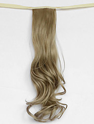 Wasserwelle leicht goldblond synthetischen Verband Typ Haar Perücke Pferdeschwanz (Farbe 16)