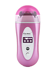 Epilator Women Electric Dry Shave Stainless Steel other KM-6810