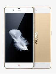 "NX513J 5.2 "" Android 5.0 Celular 4G (Chip Duplo oito-núcleo 13 MP 3GB + 32 GB Dourado)"