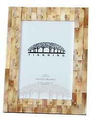 7 * 5 * 1 7 дюймов твердой древесины Европейский стиль / Americano марочные картинная рамка