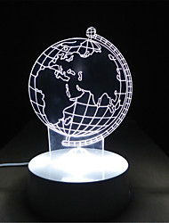 Creative Novelty 3D Wedding Gifts Children Nightlight Birthday Gift Children Room Study Bedroom Lamp Stereo