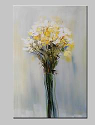 pintura a óleo da flor pintada mão grande sobre tela imagem da arte moderna da parede, com quadro esticado pronto para pendurar