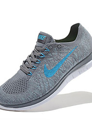 Nike Free 4.0 RN Flyknit Round Toe / Sneakers / Running Shoes / Casual Shoes Men's Wearproof GrayRunning/Jogging / Leisure Sports /