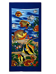 sunodor Beach Towel Blue,Jacquard