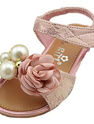 Girl's Sandals Summer Comfort Microfibre Outdoor Flat Heel Pink Gold