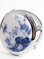 Compacts(Bleu)Thème Vintage-Non personnalisée 7*7*1.5cm Acier inox Céramique