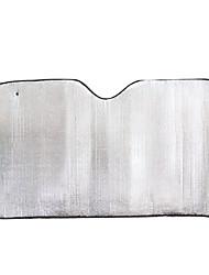 folha de alumínio 50 * 125 centímetros guarda-sóis de pára-brisa