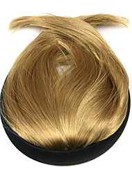 peruca de ouro 10 centímetros de alta temperatura do fio costeletas Liu Qi cor 1011